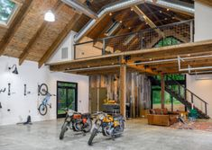 Watkins Hobby Barn | Form & Function Architecture | Asheville NC | Classic cars | garage