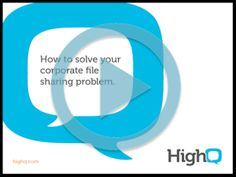 What's new in HighQ Collaborate 3.3?