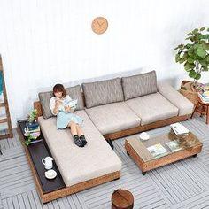 42 best Ideas for diy furniture plans free printable - 42 best Ideas for diy furniture plans free pr Wooden Sofa Designs, Sofa Set Designs, Wooden Sofa Set, Wood Sofa, Diy Furniture Plans, Couch Furniture, Home Decor Furniture, Pallet Furniture, Furniture Design
