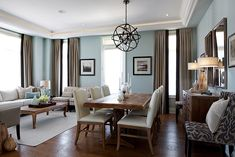 Master bedroom renovation inspiration color pallet for Dining sitting room ideas