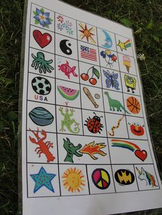Board Idea for Face Painting Booth