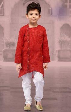Kurta Designs, Kids Blouse Designs, Boys Dress Outfits, Baby Girl Dresses, Kids Outfits, Boy Dress, Khadi, Kids Kurta Pajama, Kids Dress Collection