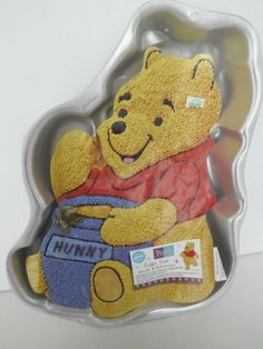 Wilton Winnie the Pooh Mold Cake Baking Birthday Party New With Insert 1995