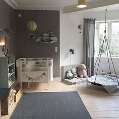 Lovely kids room with different activity zones 👌🏻✨ thanks for including some Cam Cam here 😍 Baby Bedroom, Baby Boy Rooms, Baby Room Decor, Nursery Room, Kids Bedroom, Toy Rooms, Room Inspiration, Decoration, Home Decor