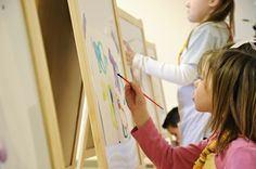 Eco-Friendly Artist Party for Kids  #16 #ByNature.ca #Pin2Inspire