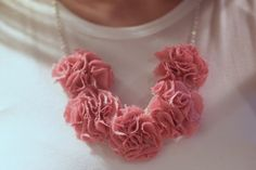 watch out for the woestmans: Pom Pom DIY Necklace Tutorial