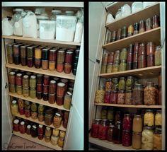 Canning closet with shallow shelves http://onegreentomato.files.wordpress.com/2012/03/canning-closet-set-wmbogt.jpg