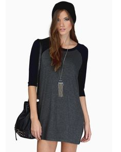 Shop Grey Black Color Block Casual Dress online. Sheinside offers Grey Black Color Block Casual Dress & more to fit your fashionable needs. Free Shipping Worldwide!