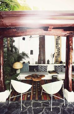 The perfect gypset patio