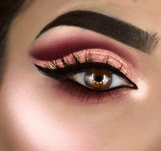 "11.6 mil Me gusta, 73 comentarios - 💃🏻F R A N C E S C A💃🏻 (@littledustmua) en Instagram: ""🎀PINK RIBBON🎀 Products used: 💃🏻Eyes with  @shophudabeauty  @hudabeauty  Rose Gold palette and…"""