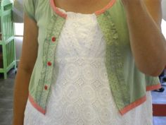 Cardigan from T-shirt