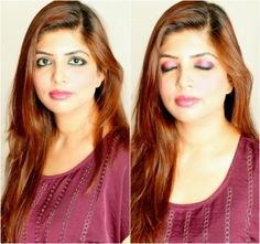 Today's makeup tutorial is inspired by festive season. Rock it with bright and bold colours - pink and green. !!!  http://www.spiceupboringlife.com/2013/10/diy-makeup-green-and-pink-festival.html