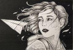 """Art by Devon """"Fly"""""""