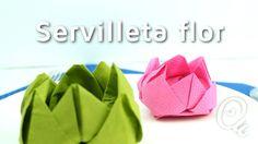 Cómo doblar servilletas en forma de flor | facilisimo.com