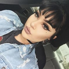 slaytan, makeup, I like scary movies & the color black, Queen of the wing, anthony ❤ Dark Makeup, Glam Makeup, Makeup Geek, Skin Makeup, Makeup Inspo, Makeup Addict, Makeup Inspiration, Makeup Tips, Beauty Makeup