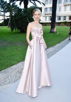 Cannes 2015 - Karolína Kurková in Alexis Mabille - Day 9 (AmfAR Gala)