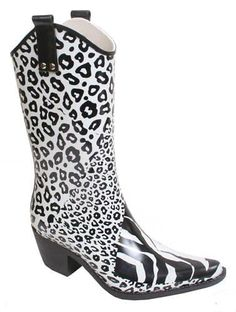 Cowboy Rain Boots for women | Weather The Storm | Pinterest | For ...