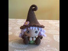 folletto gnomo Amigurumi tutorial-schema/How to crochet elf Amigurumi - YouTube