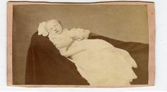 C1880 CDV Photo of A Dead Baby Quincy Illinois | eBay