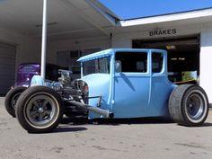 1927 five window coupe, hot rod, chopped, channeled, louvered, slicks, drop axle