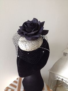 Falabella creation from the Winter collection ,PM for price . Mother Of The Bride Hats, Derby Day, Wedding Hats, Race Day, Ladies Day, Winter Collection, Headpiece, Riding Helmets, Special Occasion