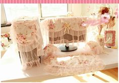 """Pink Rose Lace PC Cover Set  1 Pcs Monitor Cover : 19"""" - 23"""" 1 Pcs keyboard cover : 50x22 cm 1 Pcs CPU Cover : 45x17x28 cm 2 Pcs speaker cover : 28x28 cm Price: IDR 150.000/set  For Order : Pin bb : 5279D5D2 Line : etfelicel1 WA : 085216016388 Ig : etfelicel FB : www.Facebook.com/etfelicel.shop www.etfelicel.com"""