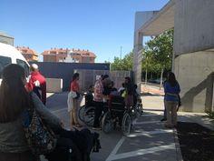Preparándose para salir de paseo por las calles de Valladolid