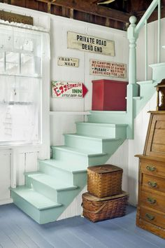 This house in Maine was built around 1885 and was used as a cottage for summer boarders.