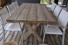 Kotilaituri: Terassin pöytä