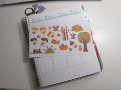 Autumn/Fall Fairies MATTE Stickers Sheet for your by Plannergirls