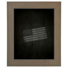 "Darby Home Co Chalkboard Size: 35"" H x 29"" W"