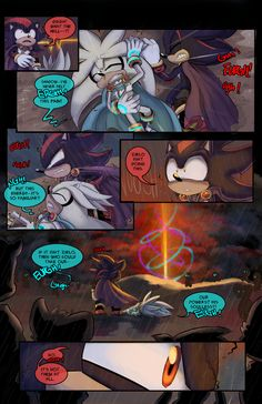 TMOM Issue 12 page 13 by Gigi-D Shadow The Hedgehog, Hedgehog Art, Silver The Hedgehog, Sonic The Hedgehog, Shadamy Comics, Sonic Unleashed, Sonic And Shadow, Shadow 2, Sonic Franchise