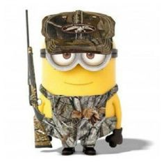Duck Dynasty hunting camo Minion minions despicable me