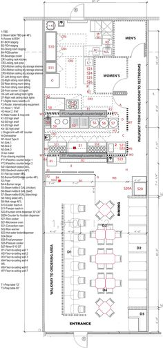 Meeting specific concept requirements: Floor Plan With Equipment Locations, Installation Detail, Equipment Specs. By pho restaurant consultant Cuong Huynh. Want to open your own pho restaurant? Pho Restaurant, Restaurant Layout, Restaurant Design Concepts, Open Kitchen Restaurant, Restaurant Kitchen Equipment, Restaurant Floor Plan, Small Restaurant Design, Restaurant Concept, Restaurant Interior Design