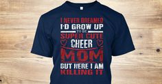 Discover Mothers Day T Shirts ! Cheer Mom T-Shirt from Mother's Day T Shirts !  only on Teespring - Free Returns and 100% Guarantee