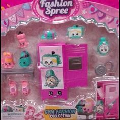 Shopkins new gym fashion collection