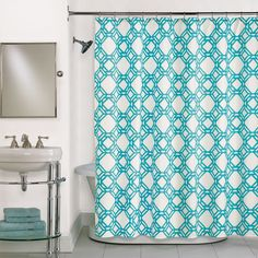 Buy Trinity Blue Shower Curtain in Blue from Bed Bath & Beyond