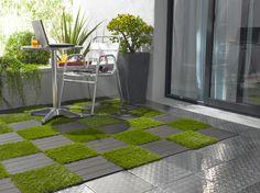 Caillebotis en Aluminium, pose clipsable http://www.lapeyre.fr/sols/terrasses-et-balcons/caillebotis/caillebotis-en-aluminium-pose-clipsable.html