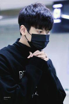 #Chanwoo #CHAN #iKON all black