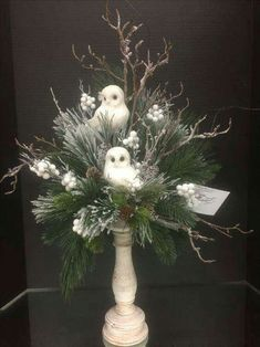 Winter woodland Collection, 2016 floral design, Tara Powers Michaels of Midlothian, Va. Christmas Flower Arrangements, Christmas Flowers, Christmas Centerpieces, Xmas Decorations, Christmas Wreaths, Christmas Candles, Advent Wreaths, Christmas Floral Designs, Winter Floral Arrangements