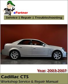 cadillac cts cts v service repair manual pdf year 2008 2009 rh pinterest com cadillac cts owners manual 2008 cadillac cts owners manual 2008