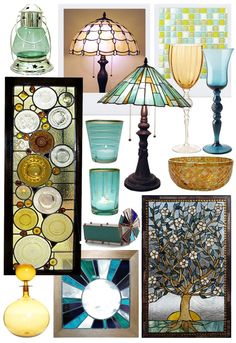 more recycled glass ideas