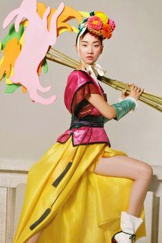 "Vogue Korea (Feb 2011) ""Happy Bunny Girl""  Photographer Lee Gun Ho"