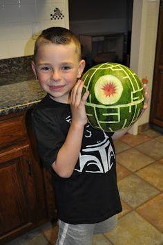 Death Star Watermelon #Maythe4thbewithyou