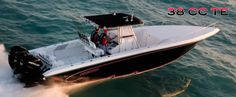 New 2012 Fountain Boats 38 Tournament Edition Express Fisherman Boat