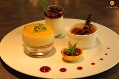 Chef Olivier Valenting's assiette gourmande.