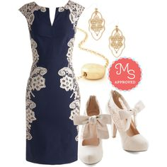 In this outfit: Lakeside Libations Dress, Filigree of Flair Earrings, Gild to Last Necklace, Behold in High Regard Heel
