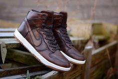 Nike SB Dunk High: Burnished Leather