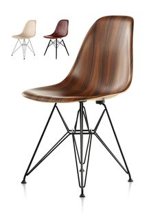 Herman Miller Updates An Eames Classic With Wood. The New Molded Wood Eames Chair, 2013.