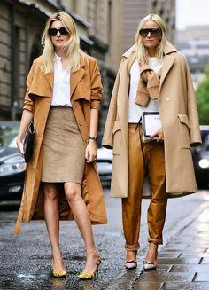 O Camel é uma cor naturalmente chic. Qualquer look criado com este tom torna-se muito mais sofisticado e tem uma aparência de mais caro. Dicas de Moda e Imagem no Blog de Moda Style Statement. camel, look chic, tom sofisticado, tendências, outono inverno 2014 2015, fashion, moda, casacos, outfit elegante, consultoria de imagem, blog de moda portugal, blogues de moda portugueses